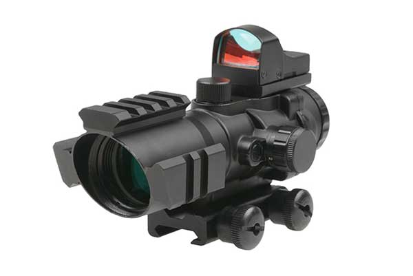 Dot sights with magnification are a great option to be considered