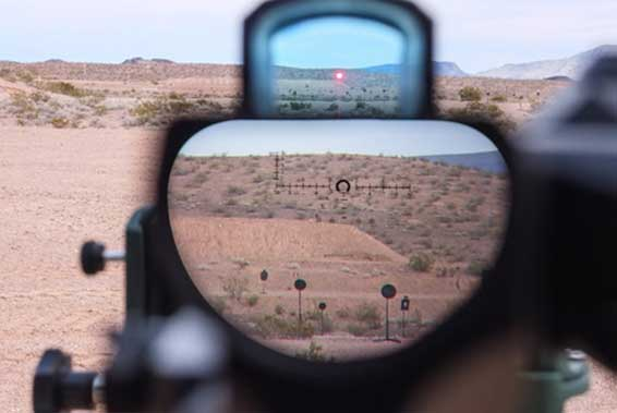 Get better speed and accuracy with green dot sights