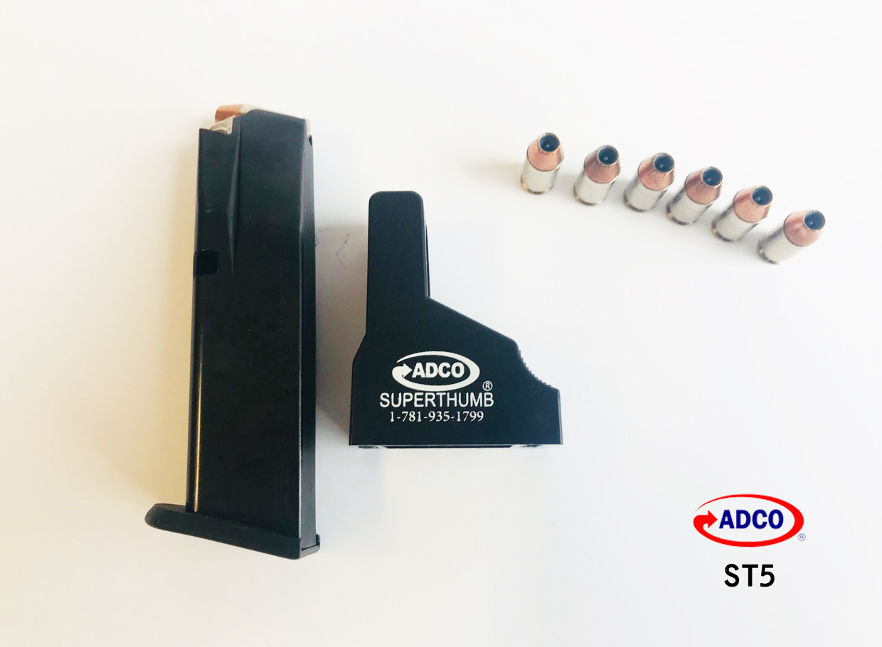 ADCO Super Thumb ST5 Pistol Magazine Loader