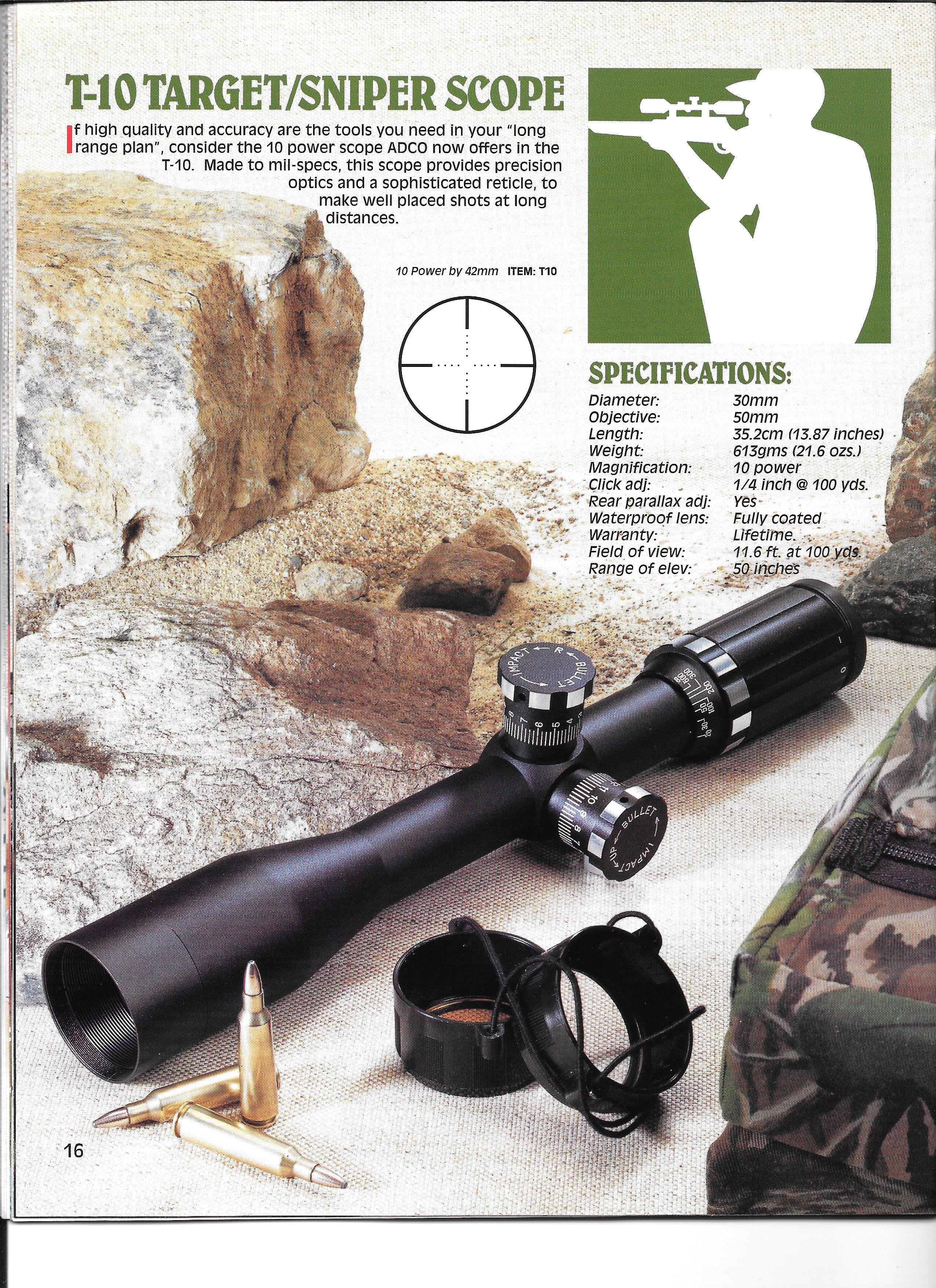 Clearfield T10 Scope